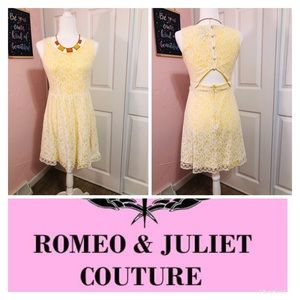 Romeo & Juliet Couture Lace Midi Dress! 🌸